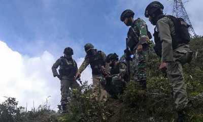 Tiga Prajurit Terluka Akibat Kontak Tembak dengan KSB di Nduga