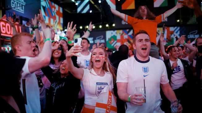 Tak Adil bagi Italia, UEFA Tolak Lagu 'Three Lions' Dinyanyikan di Final Euro 2020