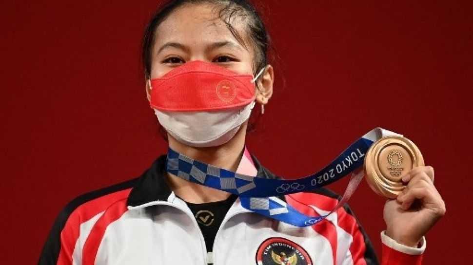 Olimpiade Tokyo - Perunggu Windy Cantika, Medali Pertama bagi Merah Putih