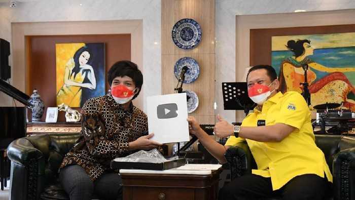 Tak Cuma Youtube, Bamsoet Juga Ingin Sosialisasikan 4 Pilar Lewat TikTok