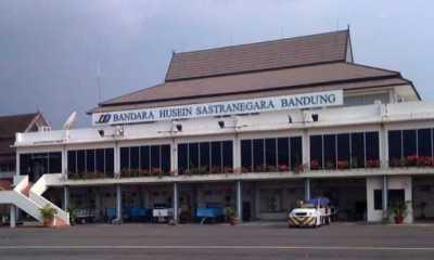 Hari Ini, Seluruh Maskapai Penerbangan di Bandara Husein Sastranegara Batalkan Jadwal Keberangkatan