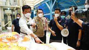 Mentan SYL Kunjungi Penggilingan Padi di Cibitung Bekasi