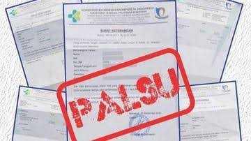 Polisi Tangkap Pasangan NJ dan NBP Penjual Surat Antigen Palsu