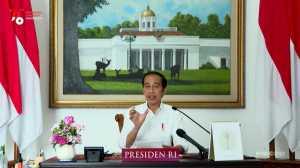 Jokowi Minta Umat Muslim Sebarkan Nilai Islam yang Rahmatan Lil Alamin