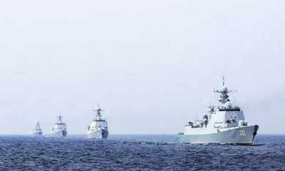 Saat Kapal Perang Inggris Dekati LCS, China Langsung Gelar Latihan Militer