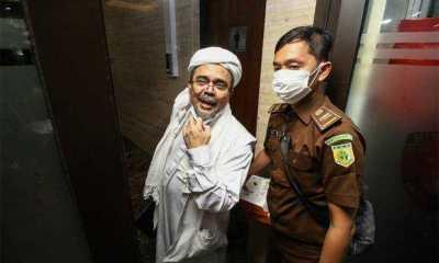 Pengadilan Tinggi DKI Tolak Banding Habib Rizieq
