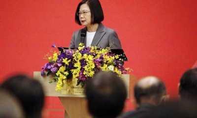 Meski Benci, Ternyata China Berterima Kasih kepada Presiden Taiwan Tsai Ing-wen