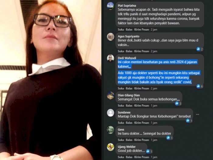 Sebut Kebohongan dan Tidak Ada Virus Covid, Dr Lois Ditangkap Polisi