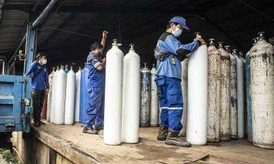 Bantuan Tabung Oksigen dari Singapura Tiba 14 Juli Nanti