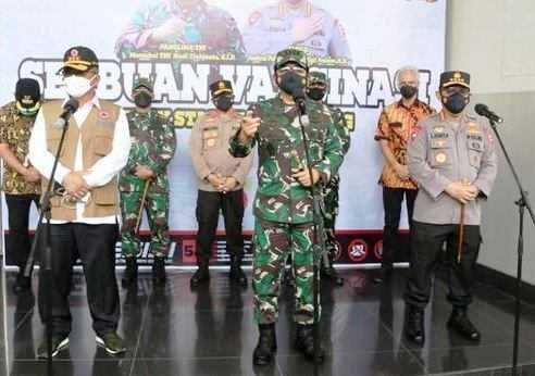 Panglima TNI Jelaskan Strategi Ofensif-Defensif Untuk Lawan Covid