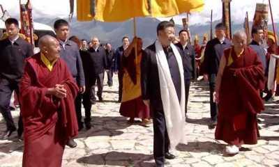 Sudah 30 Tahun Baru Kali Ini Presiden China Lakukan Kunjungan ke Tibet