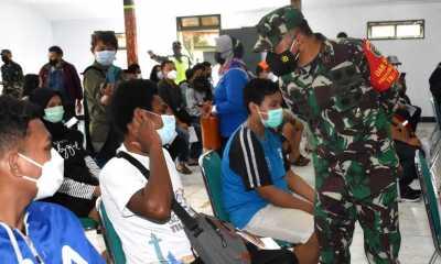 Danrem 174/ATW Merauke : Masyarakat Papua Antusias Vaksinasi