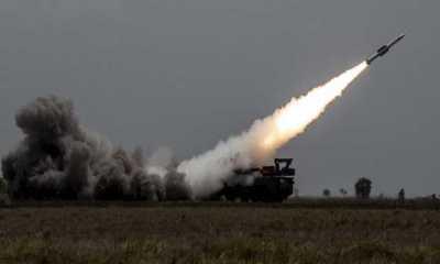 Rudal Buatan Rusia Tembak Jatuh Seluruh Rudal Israel di Homs Suriah