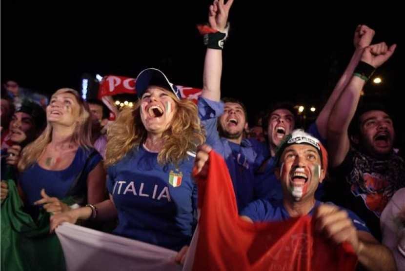 Pemerintah Inggris Larang Suporter Italia Nonton Langsung di Stadion Saat Laga Final Euro