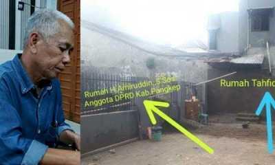 Terganggu Dengan Suara Ngaji, Anggota DPRD Pangkep dari FPAN Tutup Pintu Tahfiz
