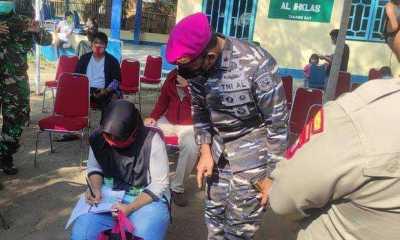 TNI AL Target Suntik Vaksinasi 1.000 Dosis diSeputar Pesisir Tangerang
