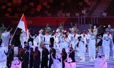 Inilah Penampilan Kontingen Indonesia Saat Acara Pembuka Olimpiade Tokyo