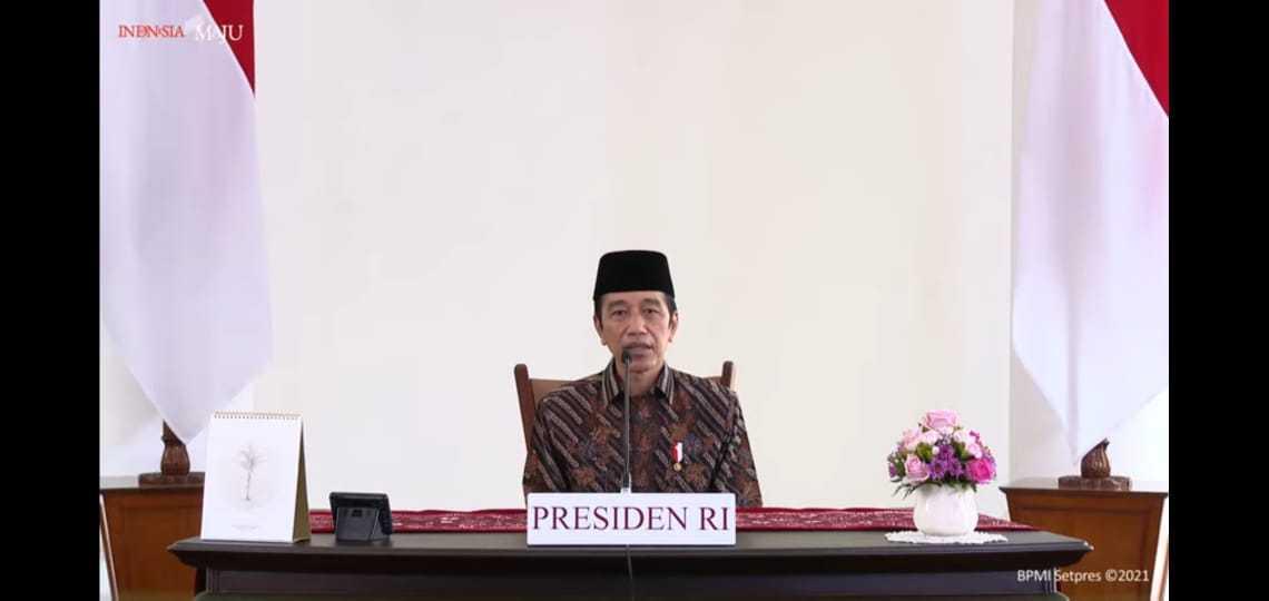 Presiden Jokowi Pimpin #PrayFromHome, Doakan Semua Korban Covid-19