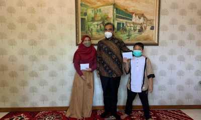 Ahmad Muzani Temui Keluarga Almarhum Pengurus Gerindra di Gresik, Jawa Timur