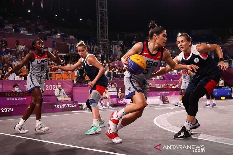 Tujuh Kali Berturut-turut, Basket Putri AS Sabet Emas Olimpiade