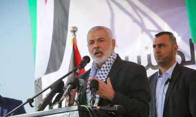 Ismail Haniyeh Kembali Terpilih Jadi Kepala Hamas
