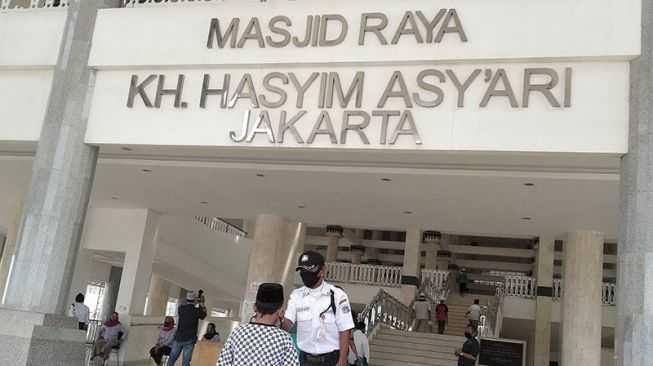 Masjid Raya Hasyim Asy'ari Buka Vaksinasi Massal Lintas Agama