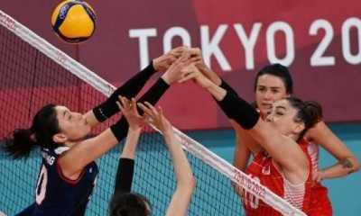 Olimpiade Tokyo - Singkirkan Turki, Tim Voli Putri Korea Maju ke Semifinal