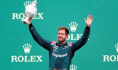Langgar Aturan Bahan Bakar, Status Runner-up Vettel di GP Hungaria Dicabut