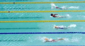 Olimpiade Tokyo – Raih Medali Emas, Renang Gaya Ganti Estafet Putra AS Pecahkan Rekor Dunia