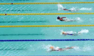 Olimpiade Tokyo - Raih Medali Emas, Renang Gaya Ganti Estafet Putra AS Pecahkan Rekor Dunia