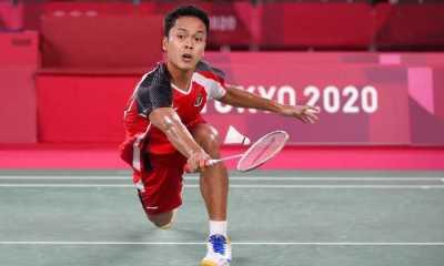 Kalah dari Chen Long, Anthony Ginting Gagal ke Final Tunggal Putra Olimpiade Tokyo 2020