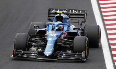 GP Hungaria 2021, Esteban Ocon Raih Kemenangan Pertama