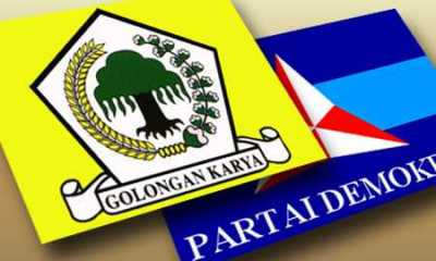 Survei, Elektabilitas Golkar Disalip Demokrat dan PKS