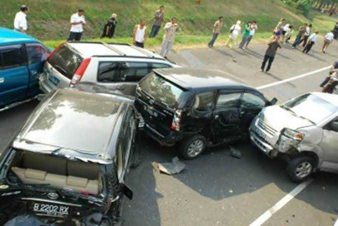 Kadispora Kota tangerang Kecelakaan