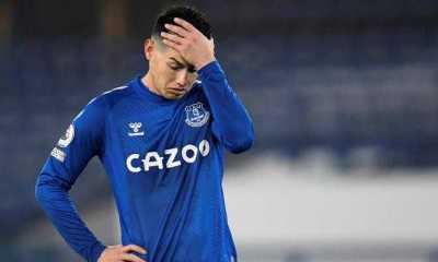 Everton Siap Jual James Rodriguez