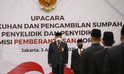 Ketua KPK Kukuhkan 78 Penyelidik dan 112 Penyidik