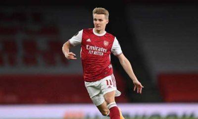 Arsenal Permanenkan Martin Odegaard