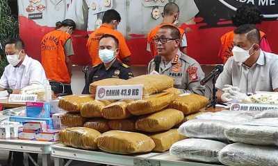 Polda Metro Jaya Ungkap Kasus Narkotika Jaringan Internasional Modus Kirim Paket