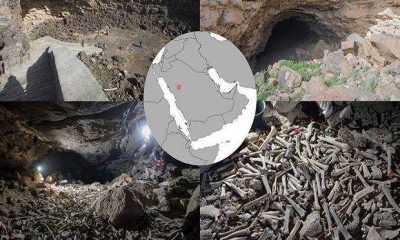 Ilmuwan Temukan Ratusan Ribu Tulang Manusia di Dalam Gua Barat Laut Arab Saudi