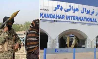 Taliban Bombardir Bandara Kandahar di Afghanistan selatan Pakai Roket
