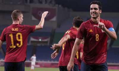 Gasak Pantai Gading 5-2, Spanyol Lolos ke Semifinal Sepak Bola Olimpiade Tokyo