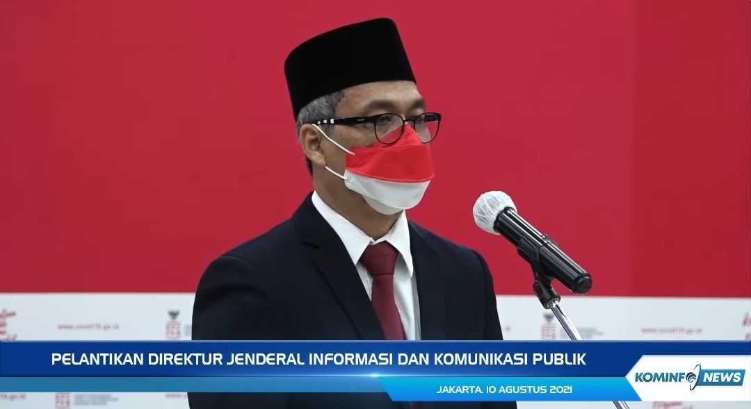 Menteri Jhonny Lantik Eks Timses Jokowi Usman Kansong Jadi Dijen IKP Kominfo