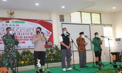 GagasVaksinasi Goes To Campus, Gubernur NTB Dukung Penuh Langkah Kapolda NTB