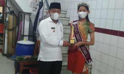 Wakil Tanjungbalai, Putri Ayu Sitorus Terpilih Sebagai Putri Taruna Sumatera Utara 2021