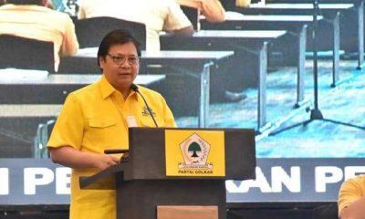 Upaya Menangkan Pemilu 2024, Airlangga Instruksikan Kader Golkar Lakukan Pendekatan Kultural