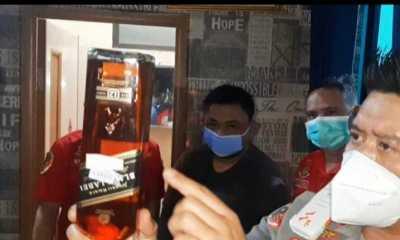 Pabrik Ilegal Miras Impor Palsu Digrebek Polisi
