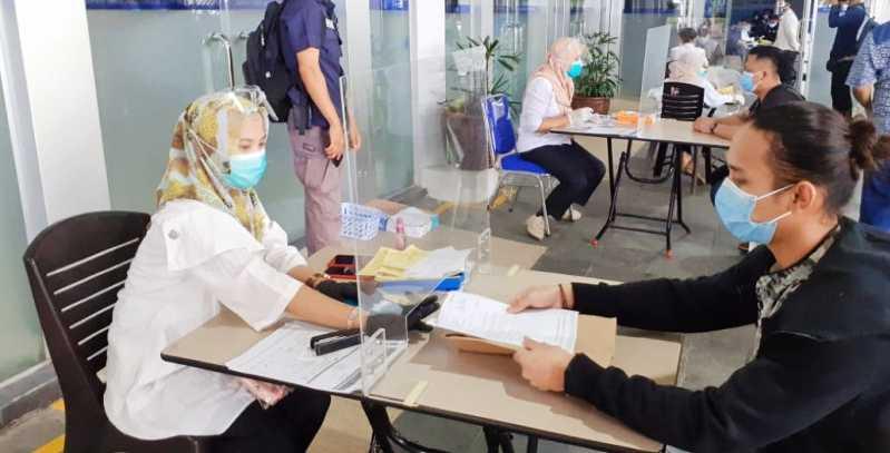 TNI-Polri Awasi Karantina WNA yang Masuk dari Batam