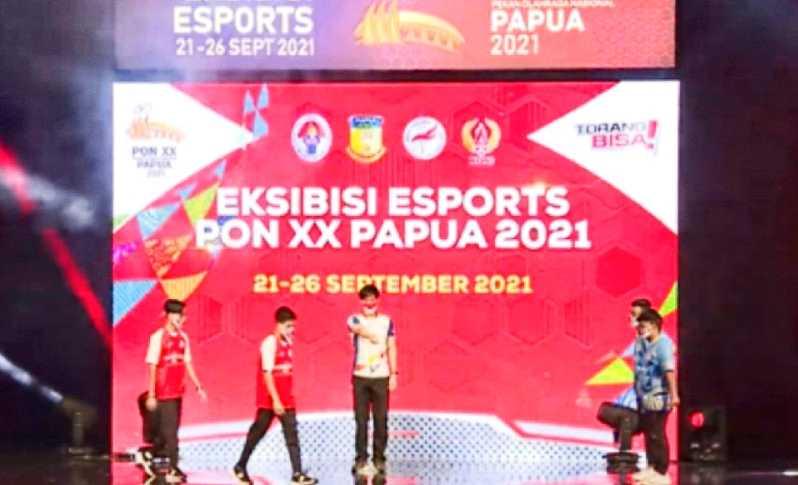 Tim Jabar Rebut Medali Emas eFootball PES 2021 Cabor Ekshibisi Esport di PON Papua