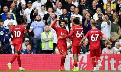 Liverpool Libas Leeds United Tiga Gol Tanpa Balas
