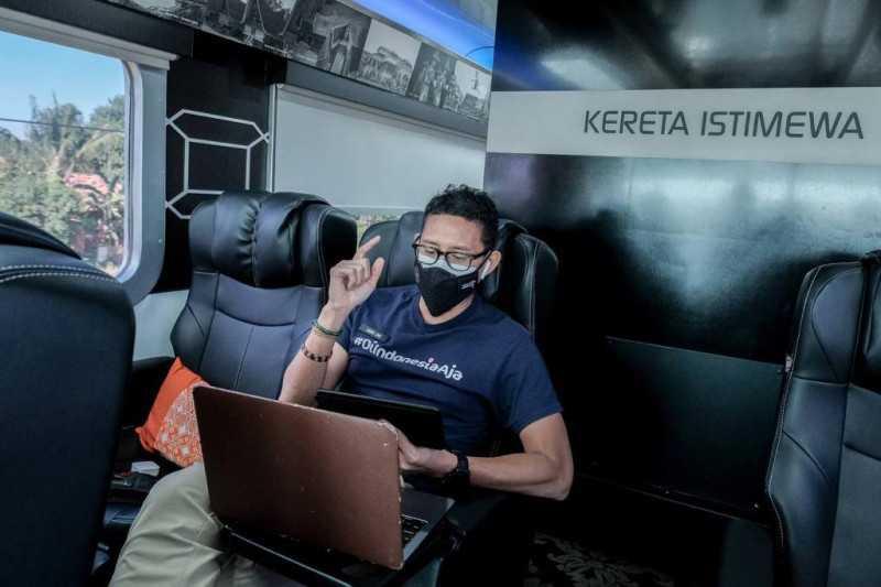 Kata Sandiaga, Kereta Istimewa Hadirkan Inovasi yang Jadi Daya Tarik Wisatawan